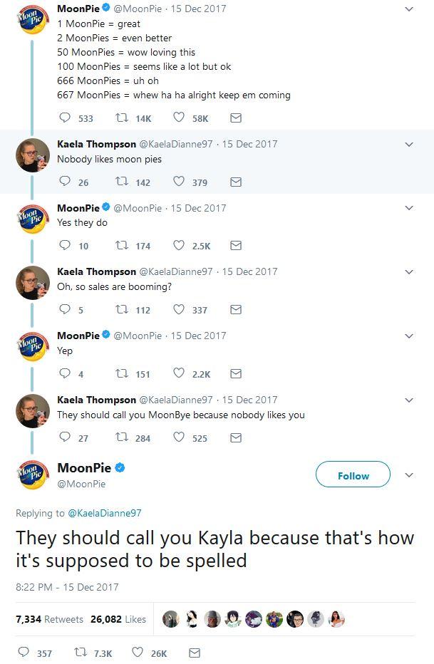 MoonPie Tweet
