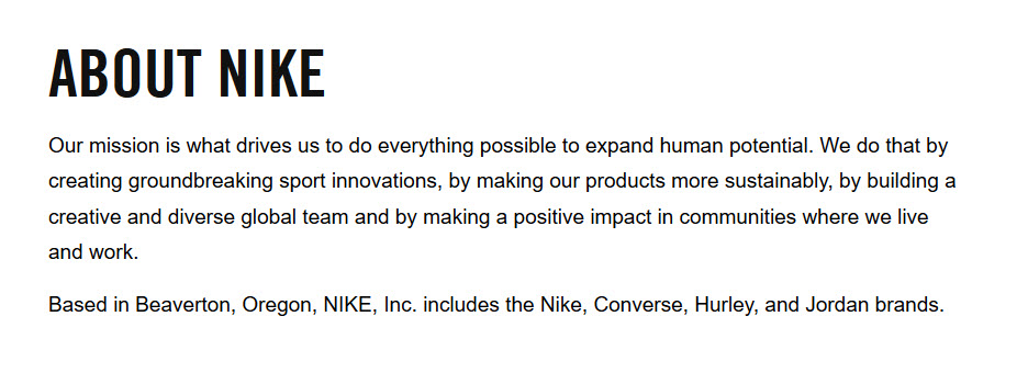 About Nike